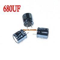 Free Shipping 200pcs NEW ORIGINAL MFZ 4V 680UF MFZ Capacitor 680UF/4V 8x8mm