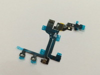 500pcs/lot High quality new switch on/off power flex cable for iphone 5C free shipping by DHL EMS