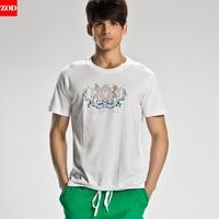 Zod male underwear short-sleeve vest male fitness undershirt tight-fitting sports male vest vesseled t-shirt