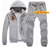 European American Style Mens Polo Tracksuit Top Quality Sportsuit Jogging Sportswear Hoodies Sports Pants Jackets Coats