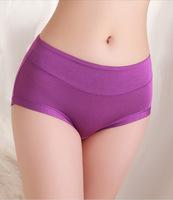 New Brand Top Fabric Ultra-thin Comfort Women Seamless Underwear Women PANTIES black Pink Briefs
