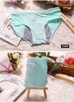 Kissney Factory Menstrual Sanitary Period Leak proof Modal Seamless Panty Underwear Women XL Size Women's Briefs Panties