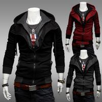 Sweatshirt mens 2015 new fashion hoodies slim outerwear tops for men slimming casual jacket hot selling