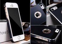 NEW ! Top Quality 5/5S Ultrathin Aluminum Metal Case for iPhone 5 5S Phone Back Cover Luxury with Matte Surface Free Shipping