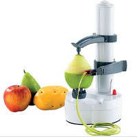 Free shipping Stainless steel electric Rotato Express peeler apple potato fruit peeler automatically Guapi knife