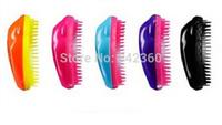 Free shipping Hot Selling 100 pcs Salon Hair Brush Detangling Hair Comb