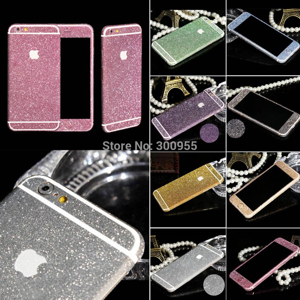 Free shipping bling diamond sticker pegatina adesivo For iphone 4 4S WHD1256(China (Mainland))