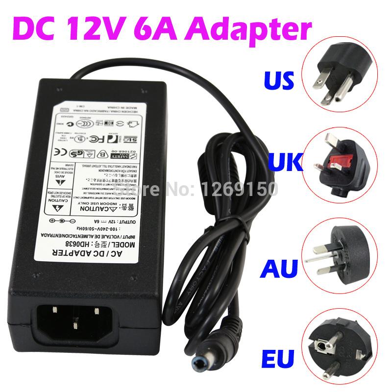 Transformator 110v 12v Transformer Adapter 12v 6a