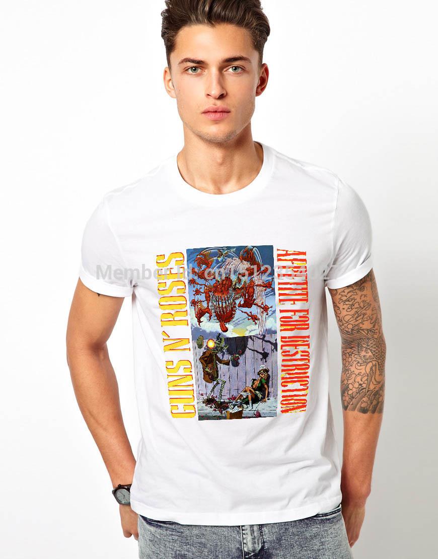 Мужская футболка T n Guns N Roses guns n' roses use your illusion i 2 lp