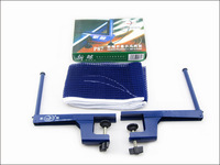 free shipping Portable Retractable Table Tennis Net Rack Replacement PingPong Net Kit  BLUE