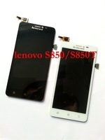 Free shipping New Original LCD Display+Touch Screen Digitize Assembly TP For lenovo S850T S850 Black & White