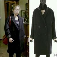 Explosion Models Hot Sale New Fashion Women Korean Dramas Same Paragraph cloth coat SW158
