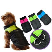 Dog Vest Winter New Pet Control Harness For Large Dog & Cat Apparel Nylon Walk Collar Safety Strap Vest 3 Color Size XS S M L XL