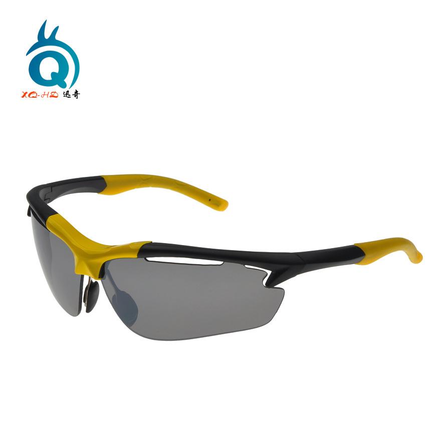 Fashion cool new frame sport sun glasses hut(China (Mainland))
