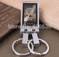High-End Men'S Ohmeda Waist Hanging Keychain Car Key Chain Key Ring Creative 3662