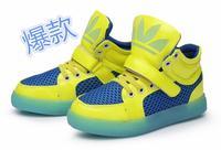 2014 Spring-Autumn Luminous Boys / Girls Children Shoes Kids Sneakers