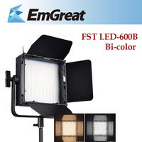 Led Video Light  TST 600PCS LED Bi-color Dual Color Temperature 3200K-5600K Photography DSLR Camera Photo Light  For Canon Nikon