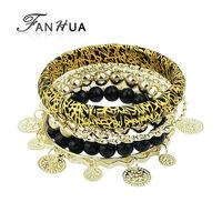 Pulseiras Femininas Indian Jewelry  Bangles Bracelets Set Pulseras Mujer for Women New Year's Fashion Jewelry