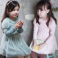 Free shipping -5pieces/lot -2015 spring newest Puff Girls Cotton Dress - princess tutu dress