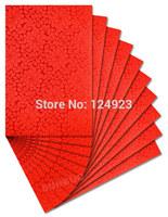 Free shipping palin red sego headtie African sego Head Tie gele HD252 10 packs/ lot
