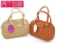The elderly bag coin purse mini bag trend women's handbag double handle handbag mobile phone bag
