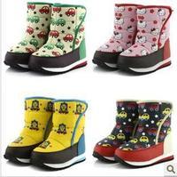 Waterproof cartoon child snow boots children boots children winter shoes child boots kids cotton boots 8073 infant snowboots