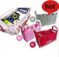 Free Shipping Wholesale  High quality Mammy Bag, Baby Diaper Nappy Bottle Storage Organizer Multi Bag