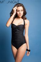 Summer Sexy Intimate Women Push Up Swimsuits One Pieces Skinny Beaty Beachwear Clothing set with Wire Swimwear