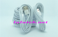 High Quality 3M 10FT durable USB Charger Charging Sync Data Cable Cord For iphone 6 plus 5 5S IOS8 10pcs