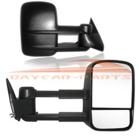 88-98 For Chevy C/K 1500/2500/3500 MANUAL Towing Hauling Side View Door Mirrors PAIR