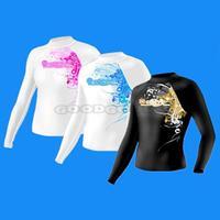 2015 Slinx 1306 ESCAPER unisex rash guard lycra top for surfing diving snorkeling windsurf swimming sunscreen sun block UPF 50+