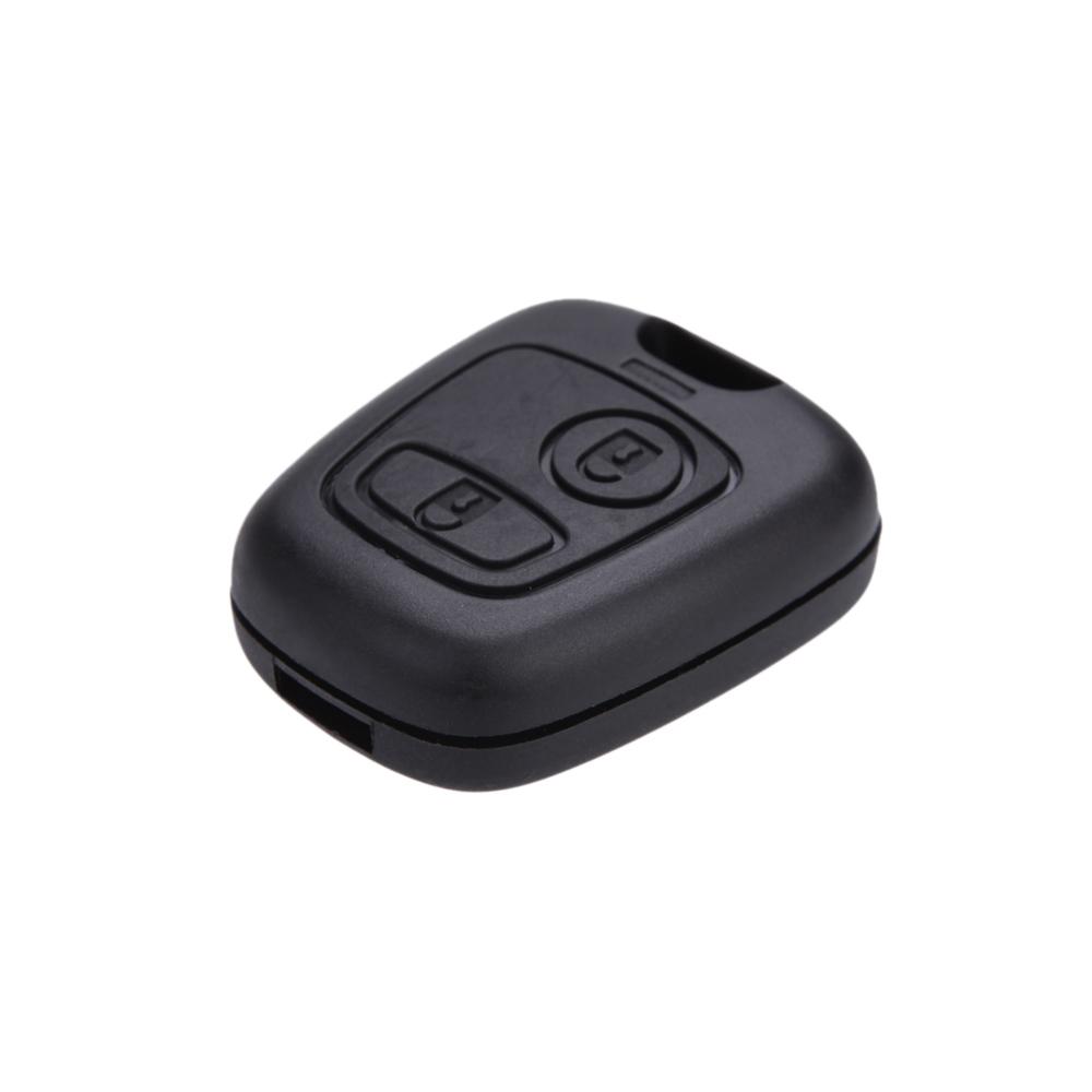 Uncut Blade Car casa Replacement Key Case Shell Key Protection Cover for PEUGEOT 106 107 206 207 407 806 Funda Botones Mando(China (Mainland))