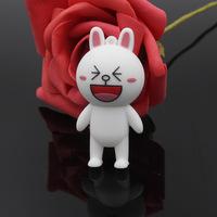 New best gift cute rabbit model 4gb 8gb 16gb 32gb USB 2.0 Flash Drive pendrive thumb Memory Card/Car/Pen/Key