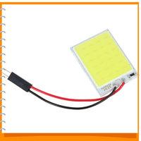 3pcs! T10 4W 12V 24 x SMD COB White LED Car Panel Light Interior Universal Auto Car LED Reading Dome Light Lamp Bulb