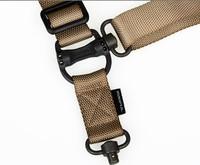 Multifunctional Tactical Belt MS4 Sling Belts Suspenders Rope QD buckle