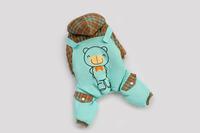 Good Quality Blue Or Orange Bear Cute Winter Dog Pet Clothing Jacket Fourlegs Coat