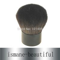 Free Shipping ON Sale Superior Goat Hair Aluminum Handle Kabuki Brush Black