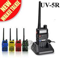FS!BaoFeng UV-5R UV5R Walkie Talkie Transceiver Dual Band Two Way Radio 136-174Mhz&400-520Mhz Interphone Free Earphone 3pcs/lot