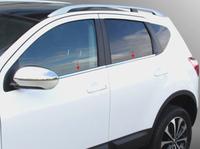Stainless Steel Side Window Bottom Trim for Nissan Qashqai Dualis 2007 2008 2009 2010 2011 2012