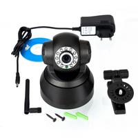 1pcs 11 LED WIFI Wireless Black Camera Night Vision IP Webcam Wholesale