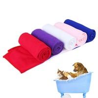 100% New Brand Pet Supply Fast Drying Pet Grooming Microfiber Towel for Pet Dog Cat    K5BO