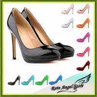 New Fashion Pumps Nightclub Star Medols Women Wedding Shoes Super High Heels Candy Color Platform Shoes Woman