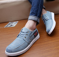 New Arrival Fashion Casual Men Sneakers,Canvas Falt With Cloth Men Shoes,Lace-up Low Comfortable Shoes For Men 204