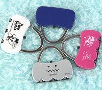 Free Shipping  Mini Cute 3 Digit Combination Travel Luggage Suitcase Lock Padlock Security 25B