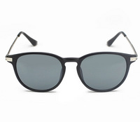 T14122403, Tianluse, 1 Pair/lot, Plastic Frame Resin Round Lens UV proof Sun Block New Sunglasses , Free Shipping