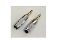 Free shipping 5pcs 3.5mm Gold plated 3.5MM Male headphone Terminal