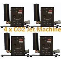 4x Co2 Jet machine  DJ effect equipment  Stage Efect Machine