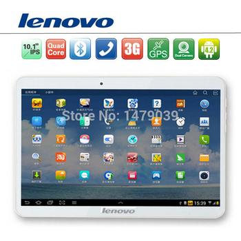 """Lenovo 10 дюймов 10.1 """" телефонный звонок планшет телефон планшет пк четырехъядерных процессоров андроид 4.4 2 г оперативной памяти 16 г / 32 г ROM ( 3 г + GPS + две SIM карты ) GSM"""
