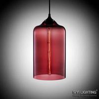 Hot Selling Niche Modern Glass Pendant Lights+Free shipping+Vintage Bulb,Dining Room Pendant Lamp,Italy Design Lighting