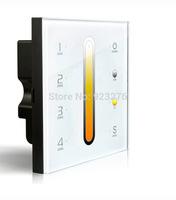 Free HK Post D6 Touch Led  Controller DMX512 4 Zones control DC12-24V   Dimming Touch Panel LED Controller